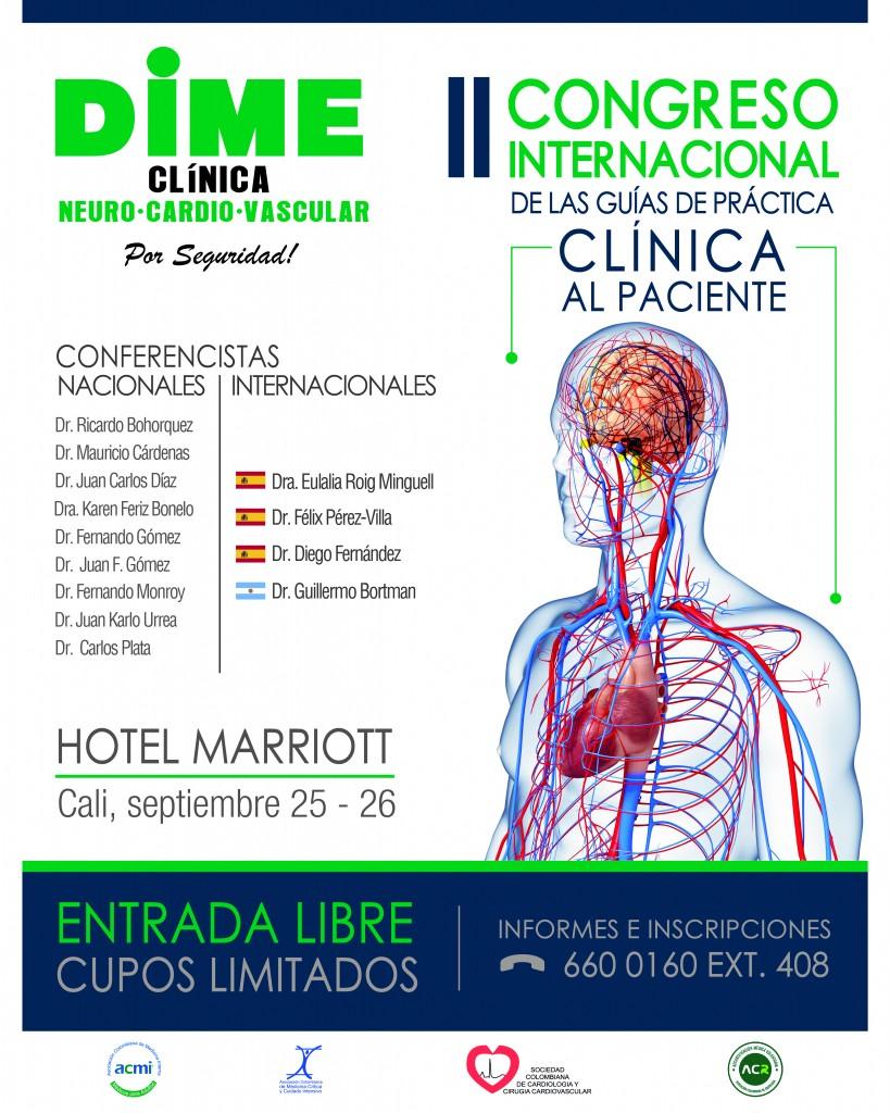 II Congreso Internacional de las Guías de Práctica Clínica al Paciente  @ Hotel Marriott- Cali Septiembre 25 y 26 de 2014
