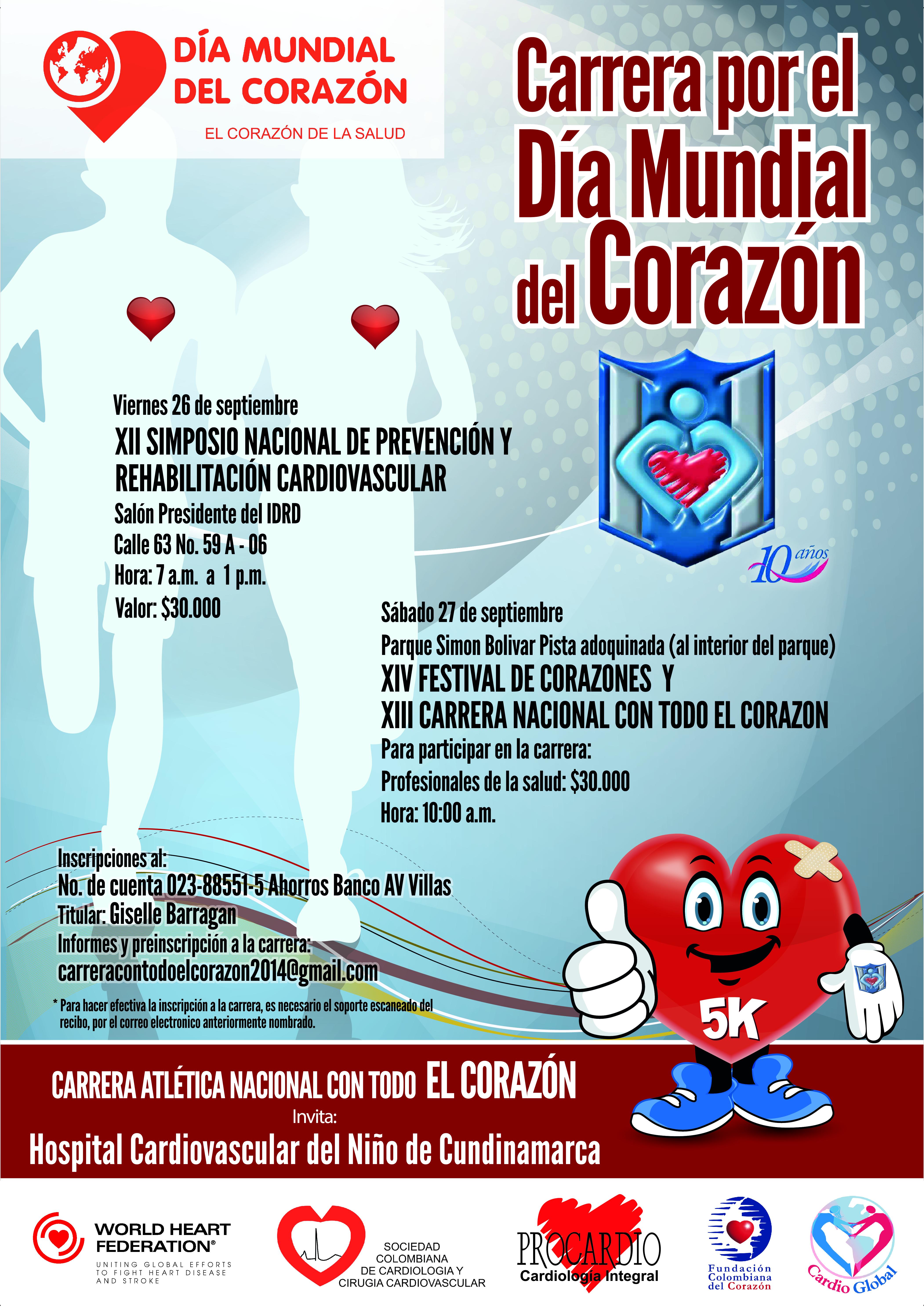 XII Simposio Nacional de Prevención y Rehabilitación Cardiovascular   @ Salón  Presidente del IDRD