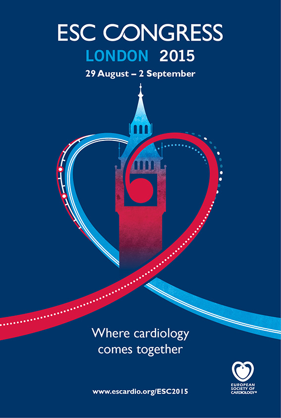 ESC CONGRESS LONDON 2015  @ London - United Kingdom-29 Aug 2015 - 02 Sep 2015