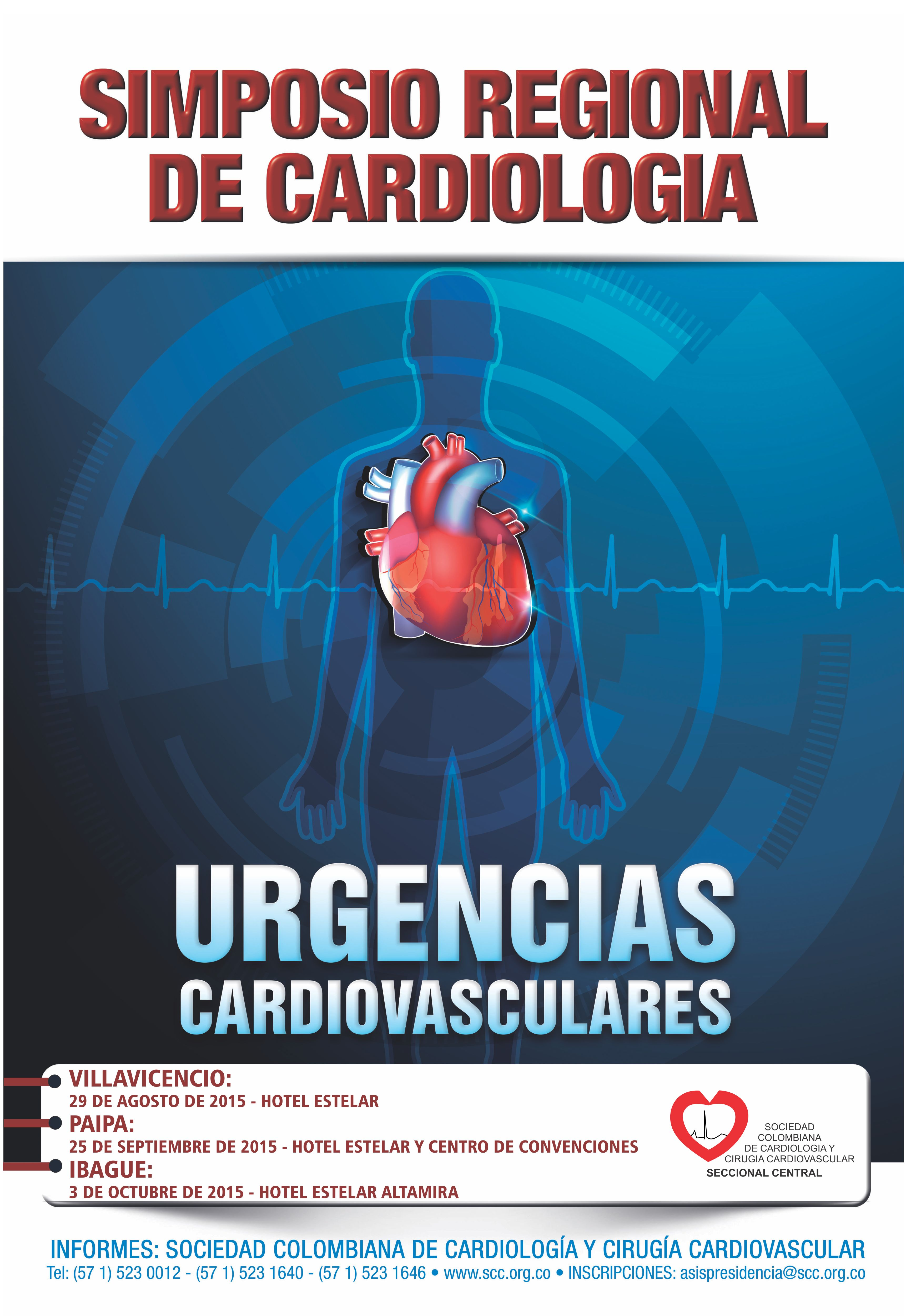 Próximamente Simposio Regional de Cardiologia @ Villavicencio /Hotel Estelar