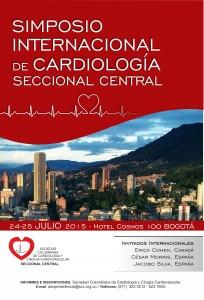 Simposio Internacional de Cardiología Seccional Central  @ Hotel Cosmos 100/ Julio 24 y 25 de 2015. Bogotá-Colombia
