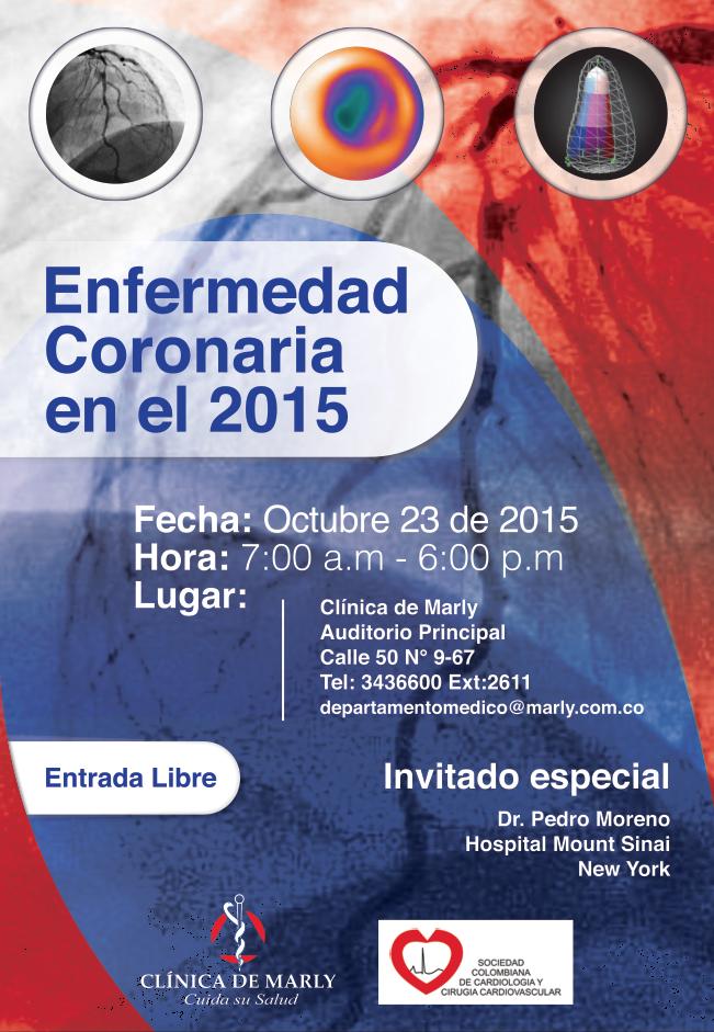 Enfermedad Coronaria en el 2015 @ Clínica de Marly/ Auditorio Principal