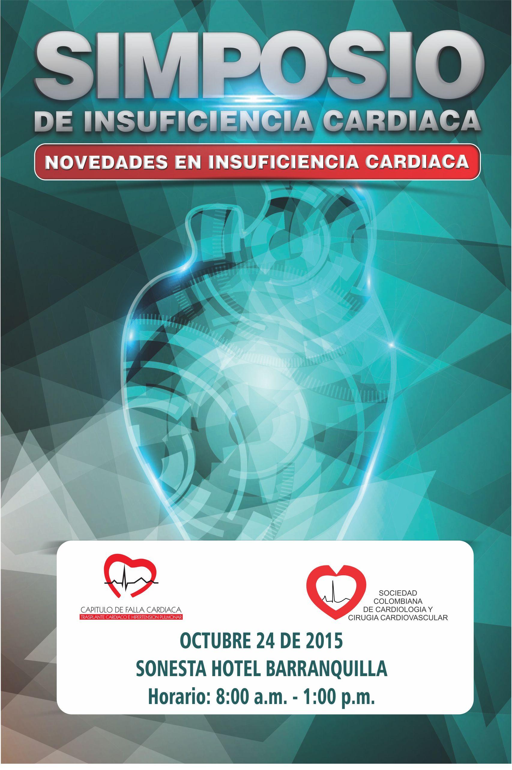 Simposio de Insuficiencia Cardíaca / Novedades en Insuficiencia Cardíaca   @ Sonesta Hotel /Barranquilla