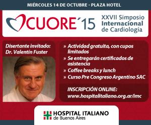 Simposio Cuore 2015 @ Plaza Hotel,Florida 1005, Buenos Aires, Argentina