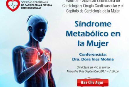 Webinar: Síndrome metabólico en la mujer