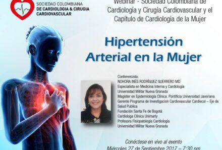 Webinar Hipertensión arterial en la mujer