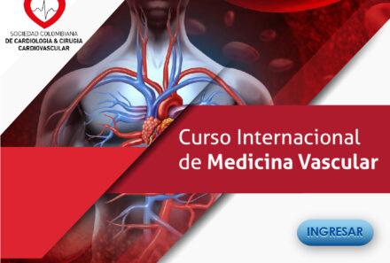 COMUNICADO GRUPO DE TRABAJO MEDICINA VASCULAR-CURSO VIRTUAL INTERNACIONAL DE MEDICINA VASCULAR