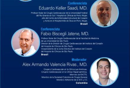 Webinar SCC: Opciones de tratamiento de las Valvulopatías a largo plazo