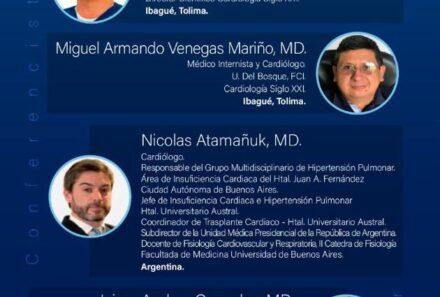 Webinar SCC: Hipertensión Arterial Pulmonar, desde los escenarios de la práctica clínica