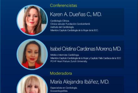 Webinar SCC: Fibrilación Auricular no Valvular en Mujeres