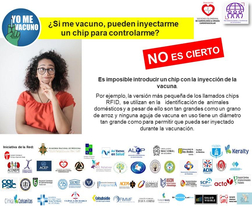 CAMPAÑA DE VACUNACION COVID-19 RED No 3 fake news