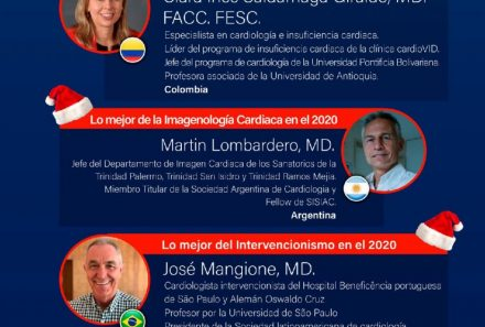 Live Webinar – Lo mejor de la Cardiología en este 2020