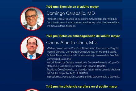 Live Webinar – Enfermedades Cardiovasculares en el paciente Geriátrico